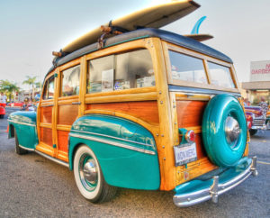 Woodie Club Car Show - Dana Point @ Doheny State Park