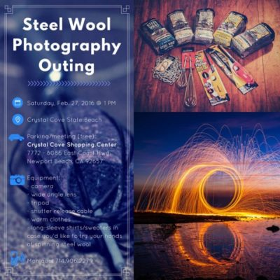 Steel Wool Flyer