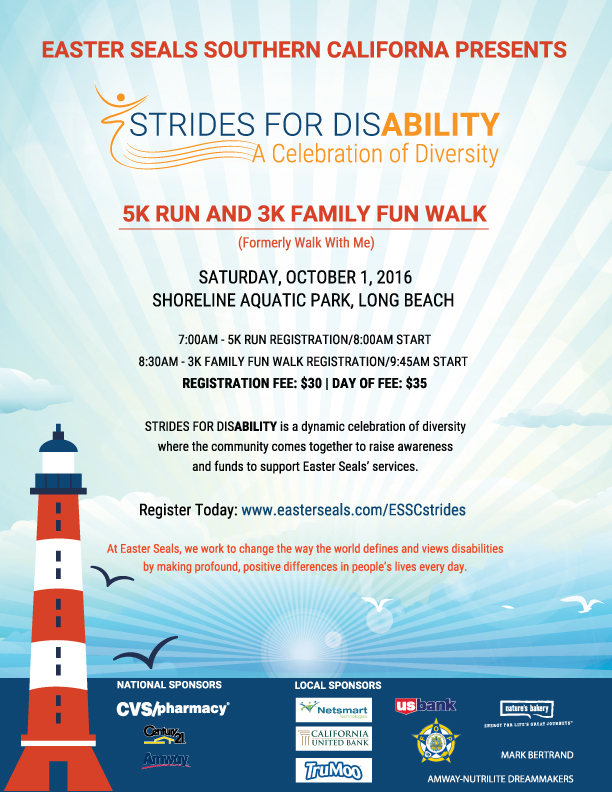 Strides for Disability Flyer